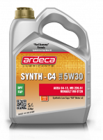 Oil Ardeca Synth-C4 5W-30 5 ltr.