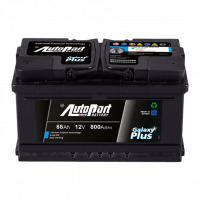 Battery Autopart Galaxy Plus 88Ah, 800A, (+ -) 278x175x190