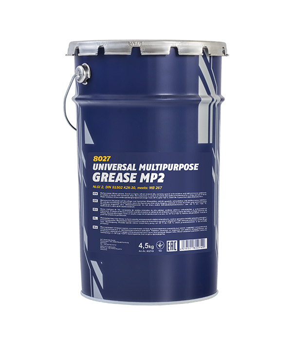 Lithium grease Mannol 8027 MP-2 4,5 kg.