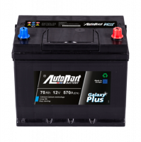 Battery Autopart Galaxy Plus 70Ah, 570A, (- +) 261x175x225