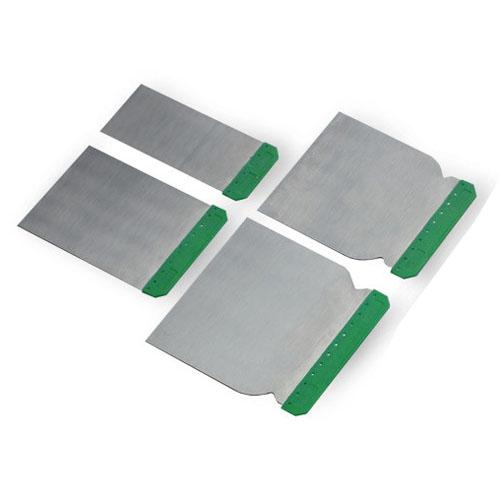 Špaktellāpstiņu komplekts metāla BOLL 4gab