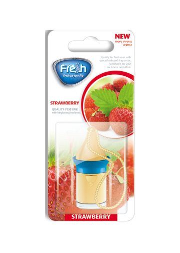 Air freshener Wood blister Strawberry