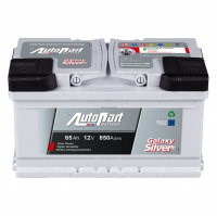 Battery Autopart Galaxy Silver 85Ah, 850A, (- +) 315x175x175