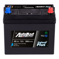 Akumulators Autopart Plus 45Ah, 380A, 12V (- +) 237x127x225