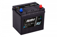 Battery Autopart Galaxy Plus 60Ah, 480A, (- +) 223x164x224