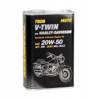Motor oil Mannol 7808 V-Twin for Harley-Davidson 20W-50 1 ltr.