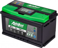 Akumulators Autopart EFB Start-Stop 80Ah, 730A, 12V (- +) 315 x 175 x 175
