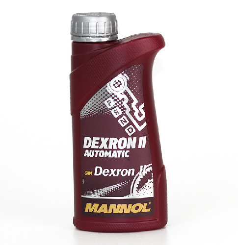 Transmission oil Mannol 8205 Dexron II Automatic 0,5 ltr. (red)
