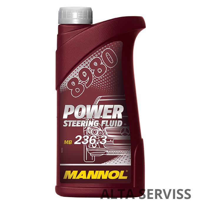 Mannol 8980 Power Steering Fluid PSF 500 ml. (for Mercedes)