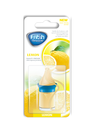 Air freshener Wood blister Lemon