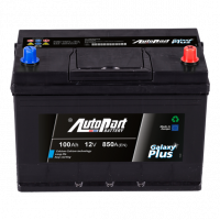 Battery Autopart Galaxy Plus 100Ah, 850A, (- +) 303x175x227