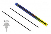 Rubber Windshield wipers 600 mm  2 pcs.