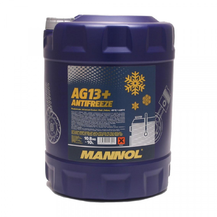 Antifrīzs Mannol 4014 Advanced AG13+  -40°C 10 ltr.