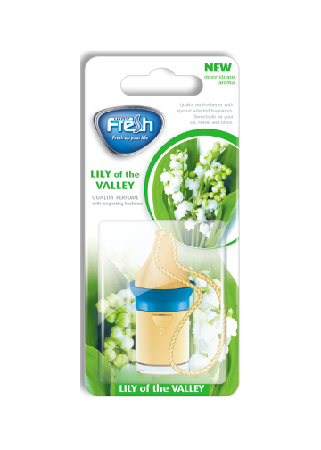 Air freshener Wood blister Lily of the valley