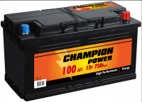 Akumulators Champion Power 100Ah, 750A, 12V (- +)  353x175x190