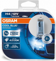 Spuldzes Osram Cool Blue Intense H4 60/55W +20% 2.gb  64193CBI-HCB