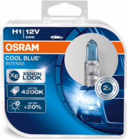 Spuldzes Osram Cool Blue Intense H1 55W +20% 2.gb 64150CBI-HCB