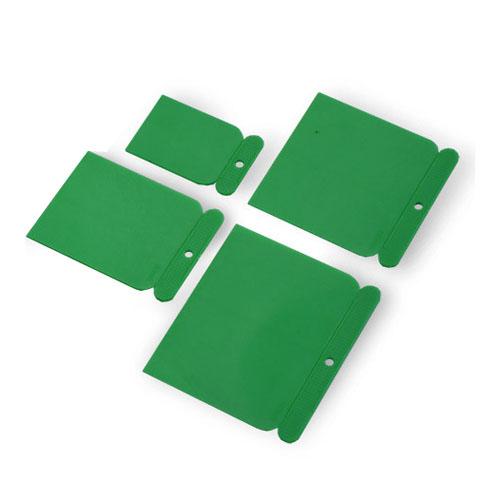 Špakteļlāpstiņu komplekts plastmasas BOLL 4gab