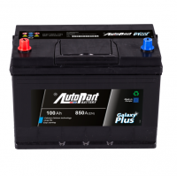 Battery Autopart Galaxy Plus 100Ah, 850A, (+ -) 303x175x227