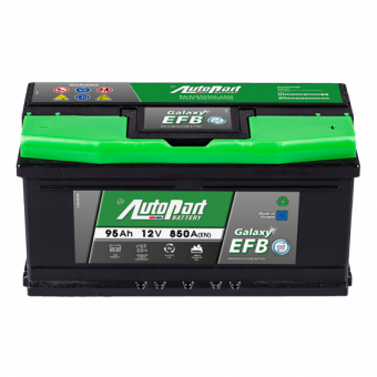 Akumulators Autopart EFB Start-Stop 95Ah, 850A, 12V (- +) 353x175x175